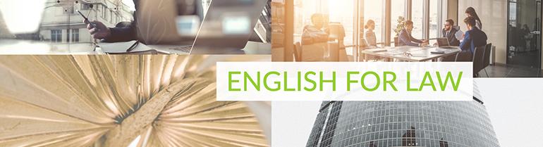 Corsi di Lingua Giuridica - Inglese Giuridico - Legal English